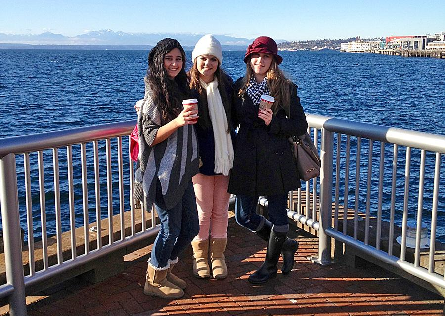 The paw print deca students attend seattle conference for Swanson s fish market