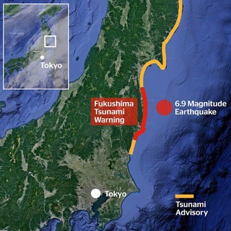 Earthquake Strikes off Japan's Coast