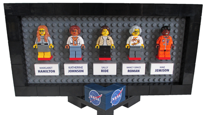 Lego Creates New Women's NASA Set