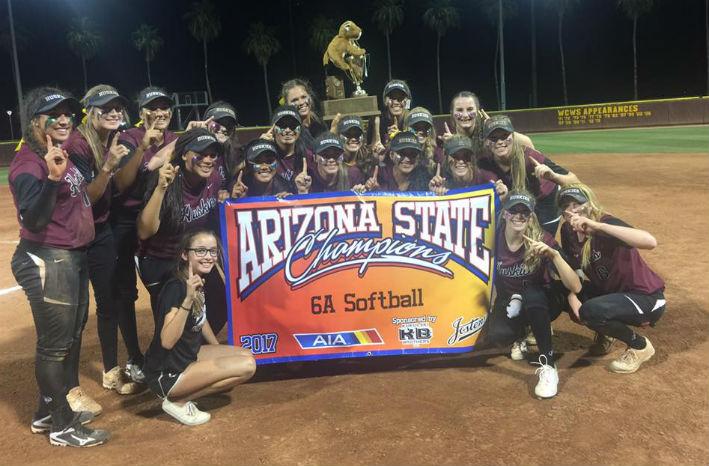 Girls Softball Win State Once Again