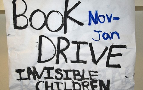 Invisible Children Used Book Drive to Run Through Jan. 10