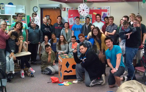 Engineering Students Build Cube for Special Education Class