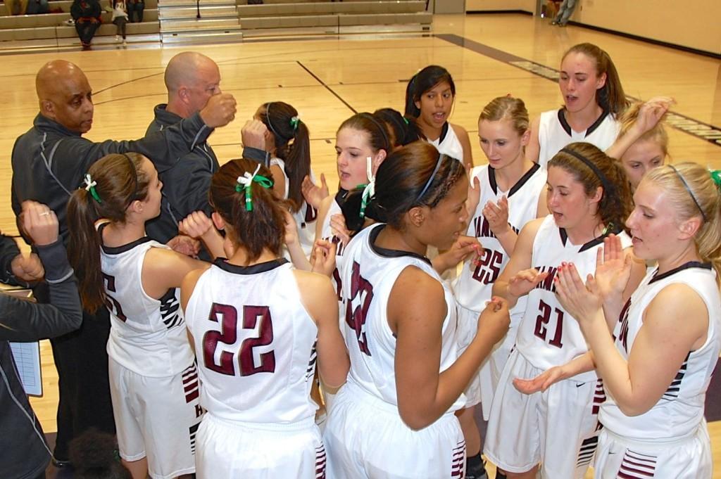 Basketball Girls Looking Strong as Playoffs Near