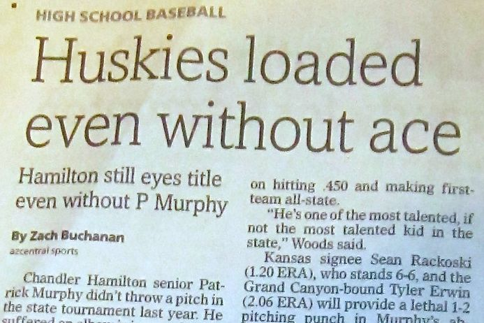The Arizona Republic has the Huskies No. 1 in its preseason rankings,
