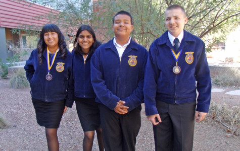 FFA Entomology Team Places Fourth