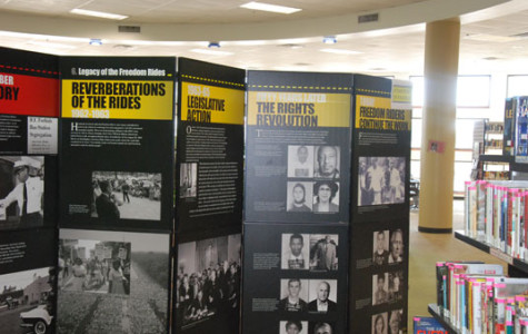 Freedom Riders' Exhibit at the Library