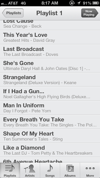 What's on Your Playlist? 8/7/13