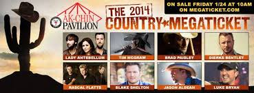 Country Megaticket sale