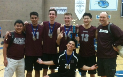 Varsity boys volleyball off to a strong start