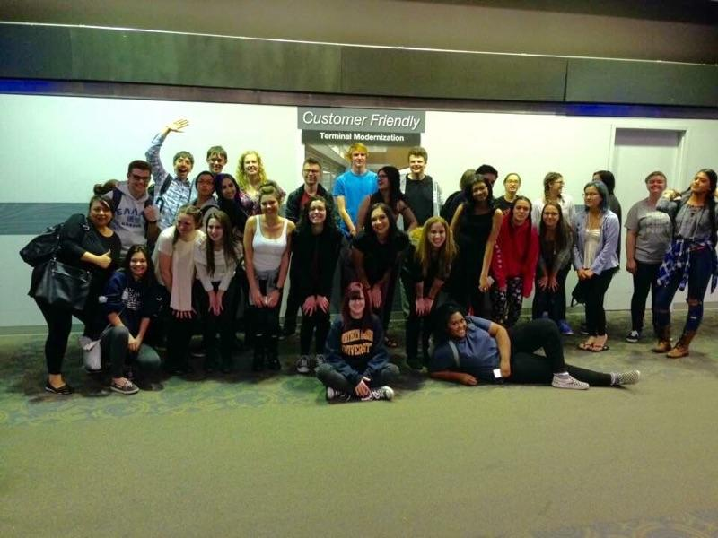 The Theatre Department's New York Trip