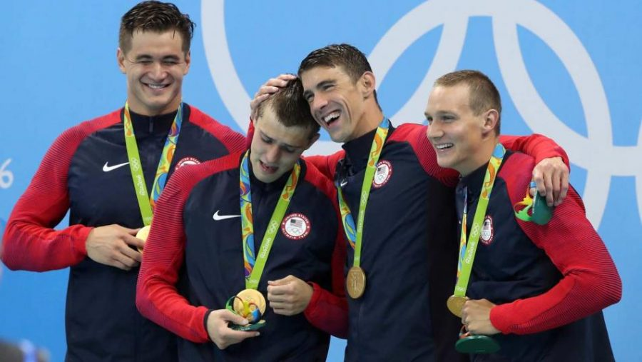 Michael Phelps and Relay Team Bring Home One Last Gold for USA