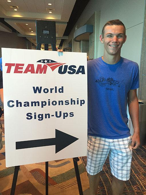 Husky, Brigham Andersen, Will Represent Team USA in World Triathlon Championship