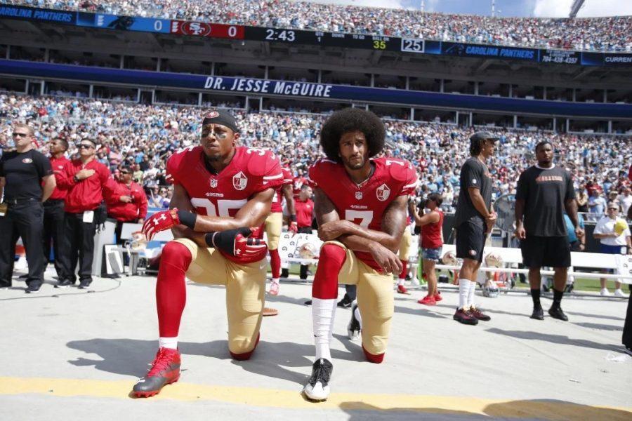 Professional Athletes Kneeling During National Anthem