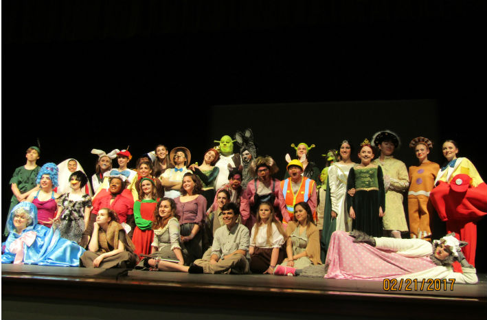 Closing Night of Shrek: The Musical