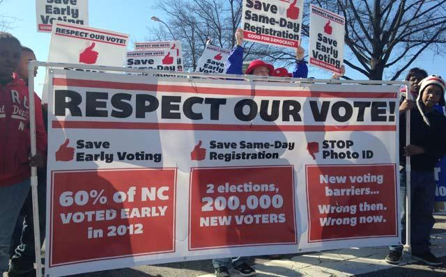Supreme Court Won't Reinstate North Carolina Voter Law