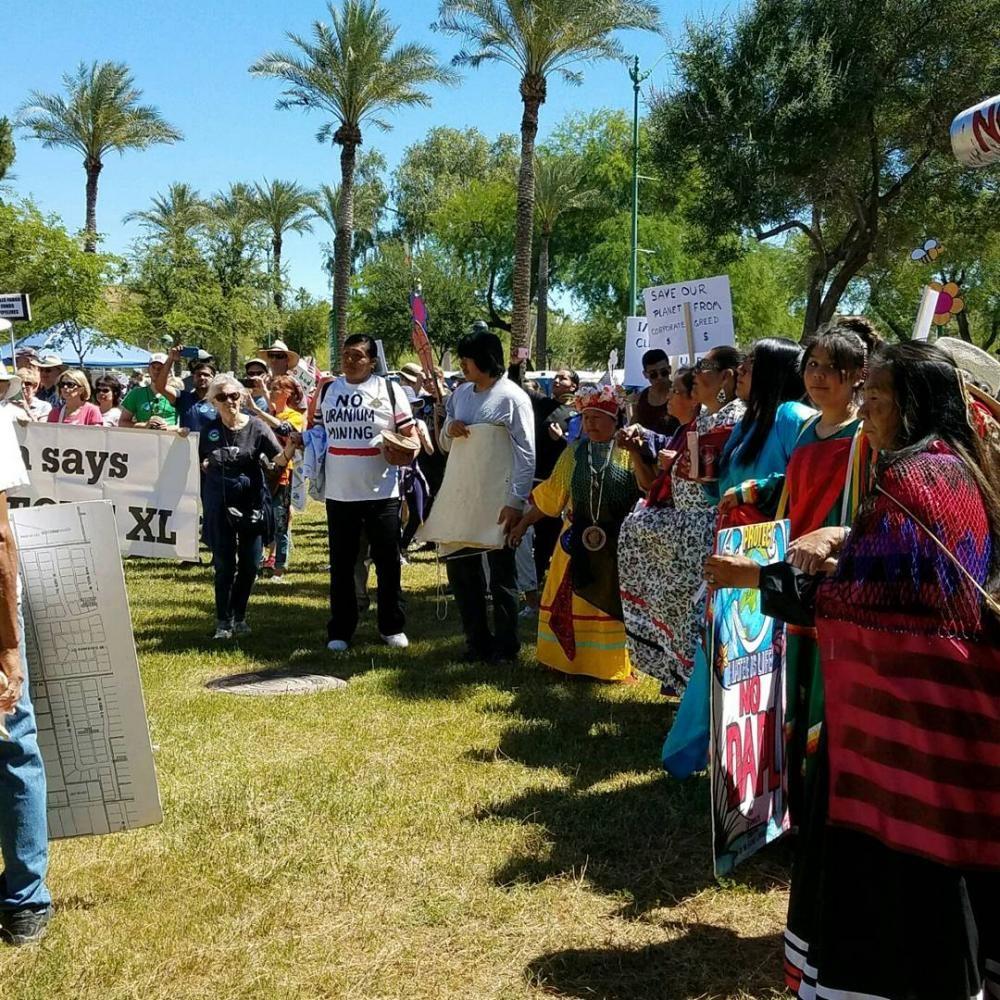 Phoenix+Climate+March