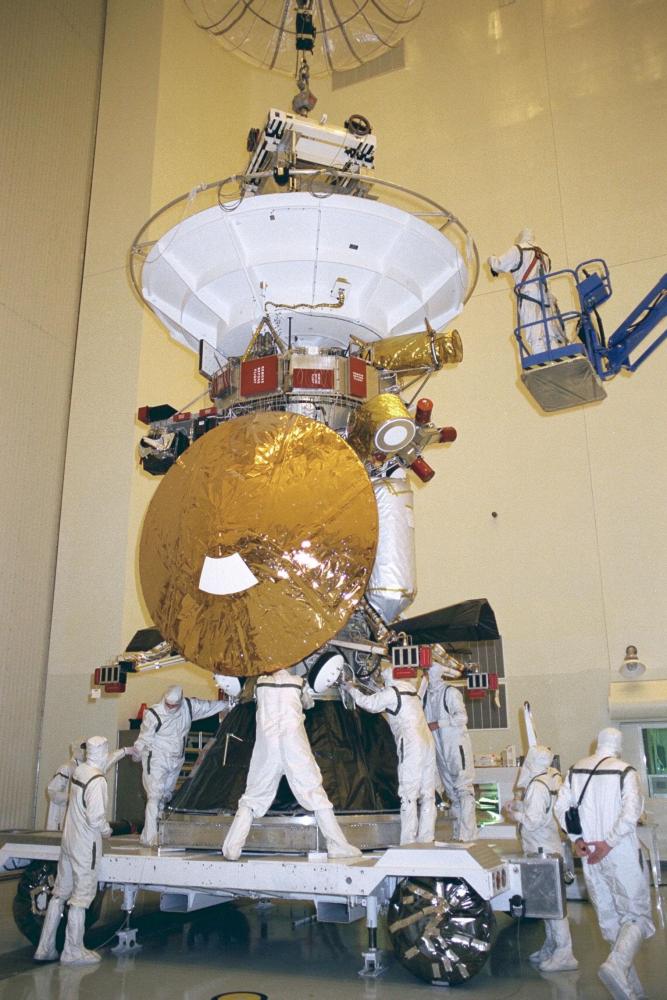 Cassini Fulfills Mission Then Crashes Into Saturn