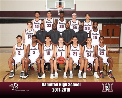 Hamilton Varsity Boys Basketball
