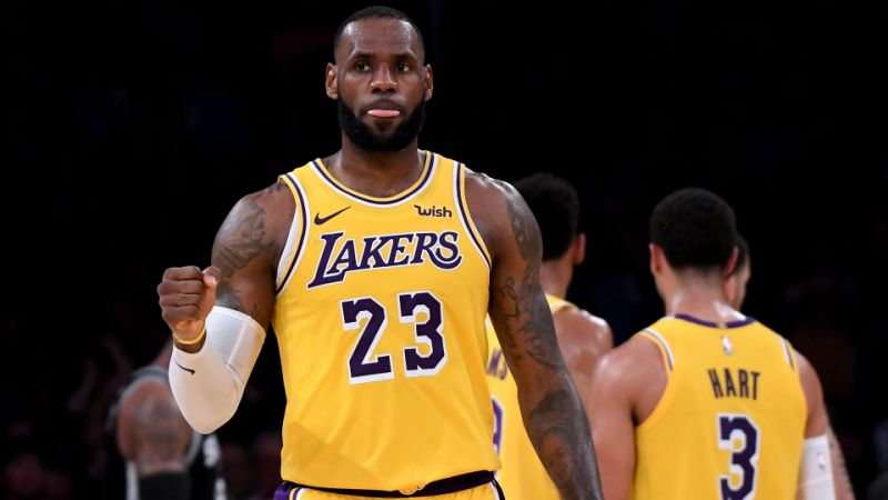 e296d45eef5 Lakers Win their First Game in the Lebron Era – The Paw Print
