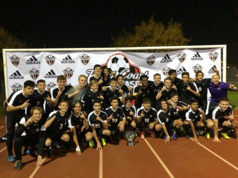 Boys Soccer scores a spot in the State Championship