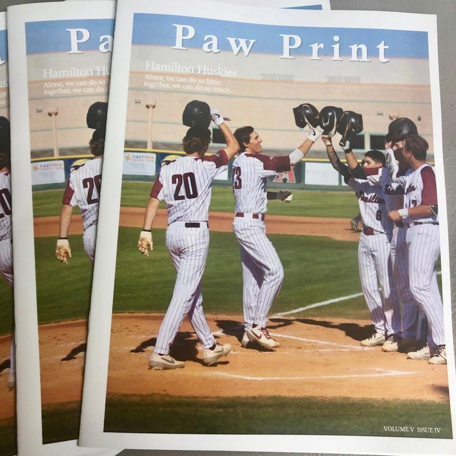 Final Issue of the Paw Print