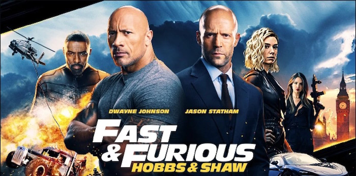 Fast and Furious Presents: Hobbs & Shaw - Movie Review
