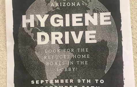 Refugee Home's Hygiene Drive