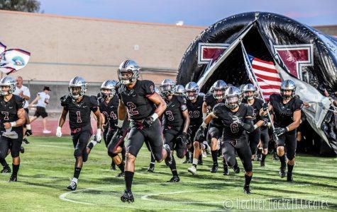 Varsity Football Stays Undefeated