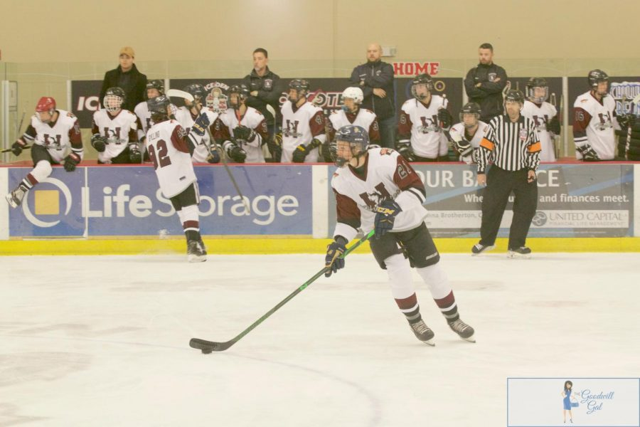 Hockey outlasts Chaparral 7-5 to win Division 1 State Championship