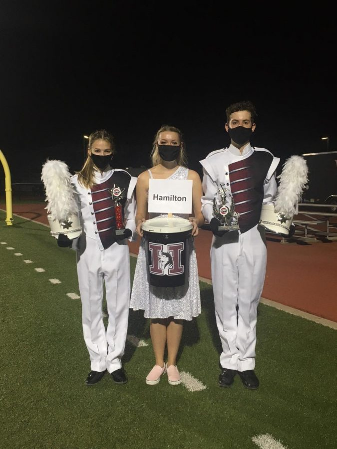 Huskies Marching Band Marches to Award