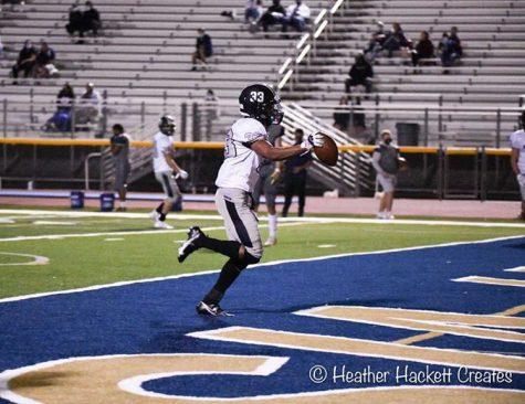 Rodney Clemente scores a touchdown vs. Desert Vista