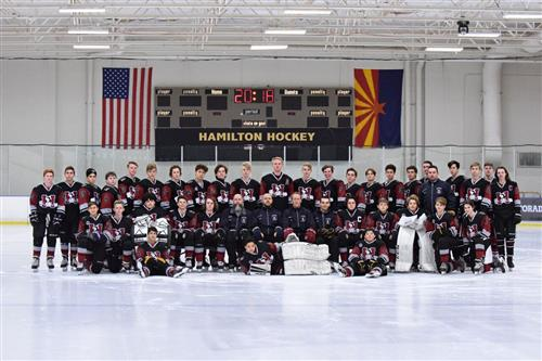 D1 Hockey Takes on the Notre Dame Prep Saints and Flagstaff Avalanche