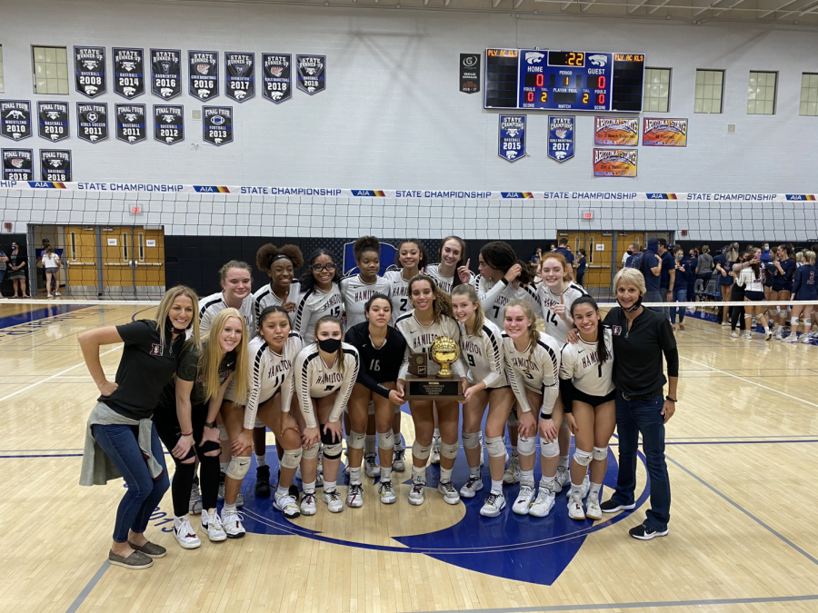 Lady Huskies Volleyball Win's State Title!