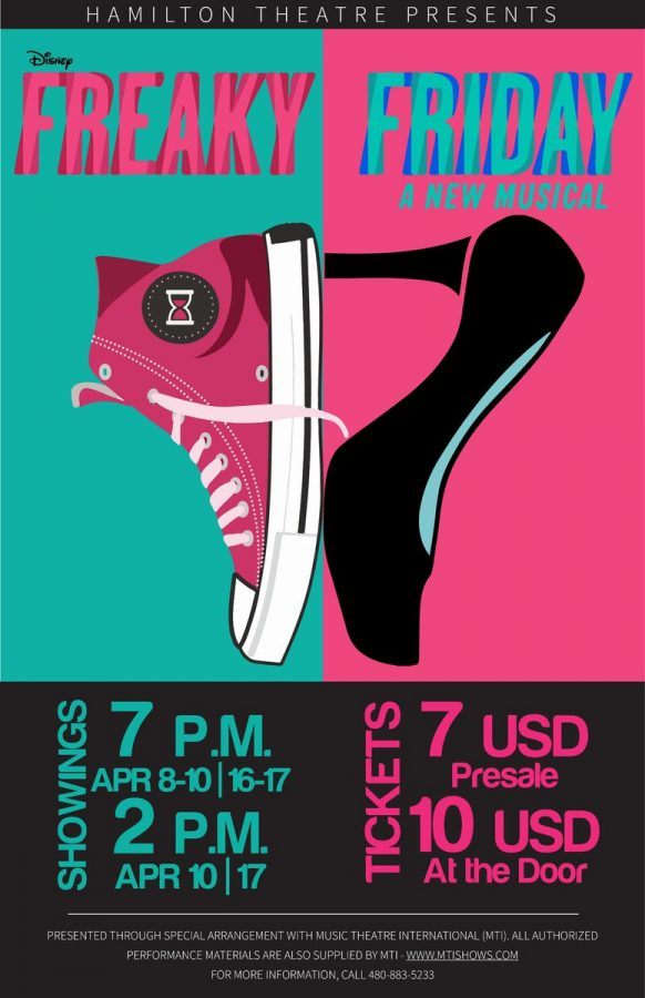 """Hamilton Theater Company Performs their Annual Musical """"Freaky Friday"""""""
