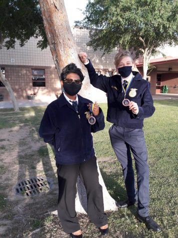 FFA Competes in First Competition of The Year