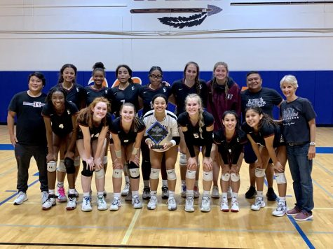 Hamiltons Varsity Volleyball Team is Winning Left and Right