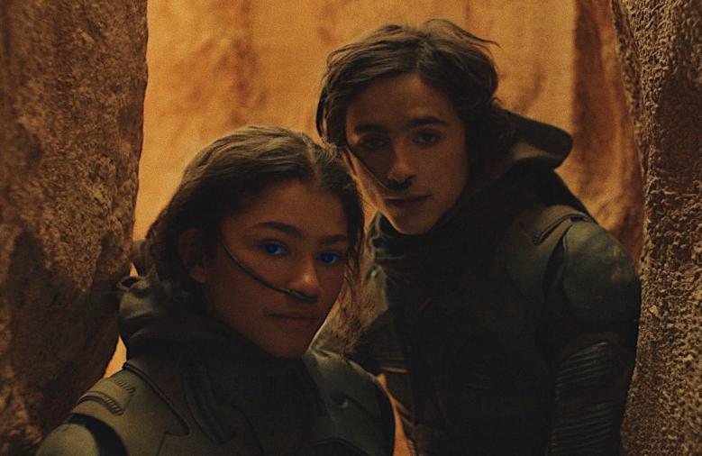 """Timothée Chalamet and Zendaya star in """"Dune"""""""